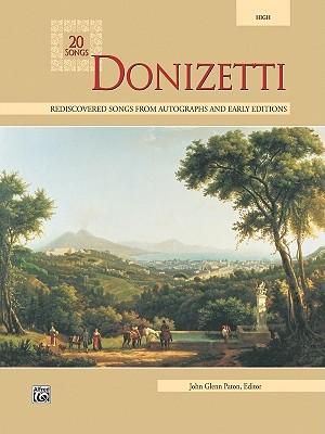 20 Songs Donizetti By Paton, John Glenn (EDT)